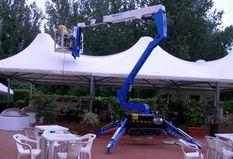 Nacelle araignée sur chenilles 18m Bluelift C18/8