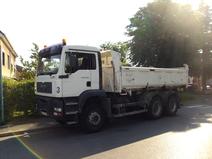 Camion bibenne 26T