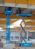 Nacelle ciseaux 12 mètres électrique
