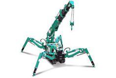 Mini grue araignée 12,5m 3T
