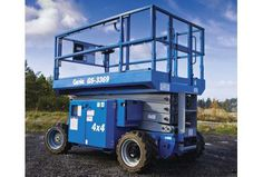 Nacelle ciseaux diesel 10m