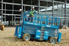 Nacelle ciseaux diesel 15m