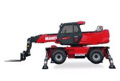 Chariot télescopique rotatif diesel Manitou 21m