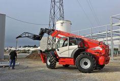 Chariot télescopique diesel Manitou 17m avec carburant