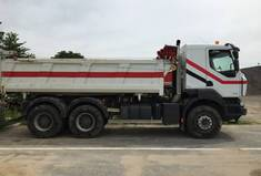 Location Camion benne 6x4 15T