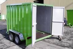 Conteneur mobile CU 1300/2500kg