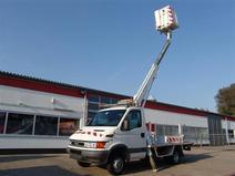 Camion Nacelle Telescopique Iveco 10M - Permis B