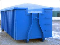 Benne 3m3 DIB déchets non dangereux (Plastique, carton,...)