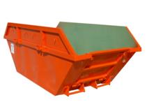 Location Benne 8m3 DIB déchets non dangereux (Plastique, carton,...)