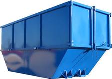Benne 15m3 DIB déchets non dangereux (Plastique, carton,...)