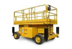 Nacelle ciseaux diesel 15m grand plateau