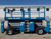 Location Nacelle ciseaux diesel 12m grand plateau
