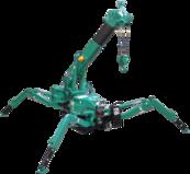 Mini grue araignée MC285C-3 8,7m 2,8T