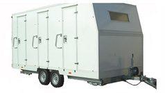 Base Vie mobile - 8 personnes - Avec WC + Douche