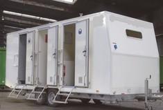 Location Base vie Vestiaire Réfectoire Sanitaire Douche - 6 personnes