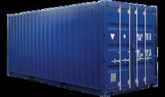 Container 33m3 - 20pieds