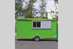 Location Roulotte R12 isolée équipée + coin cuisine - 6/8 personnes