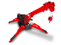 Mini grue araignée URW 376 14,5m 2,9T