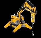 Robot de démolition Brokk 160 - Bras rallongé - 1.9T