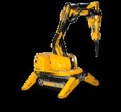 Robot de démolition Brokk 60 - 500kg