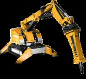 Robot de démolition Brokk 300 - 3.6T